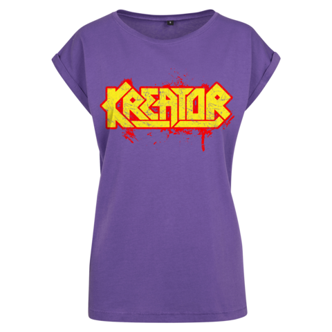 Splasher Logo by Kreator - Girlie Shirt - shop now at uDiscover store