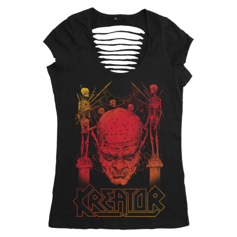 Sunset Skull by Kreator - Girlie Shirt - shop now at uDiscover store