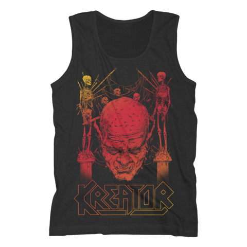 Sunset Skull by Kreator - Tank Shirt Men - shop now at uDiscover store