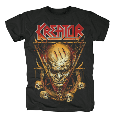 Face Horns by Kreator - t-shirt - shop now at uDiscover store