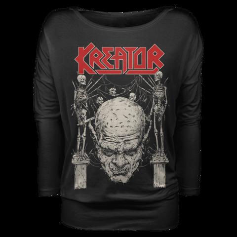 Skull N Skeletons by Kreator - Girlie long-sleeve - shop now at uDiscover store
