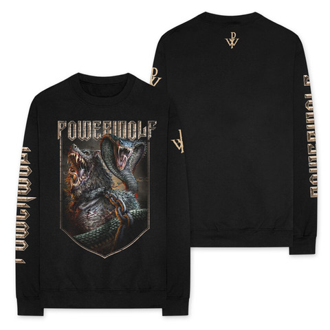 Kiss Of The Cobra King by Powerwolf - Longsleeve - shop now at uDiscover store
