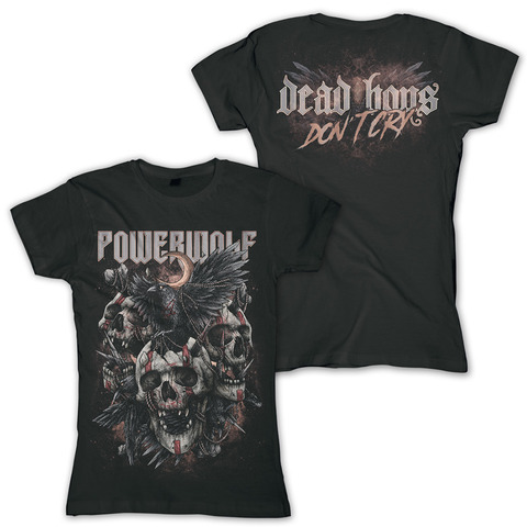 Dead Boys Don't Cry by Powerwolf - Girlie Shirt - shop now at uDiscover store