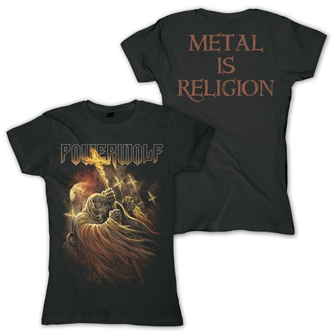 Kreuzfeuer by Powerwolf - Girlie Shirt - shop now at uDiscover store