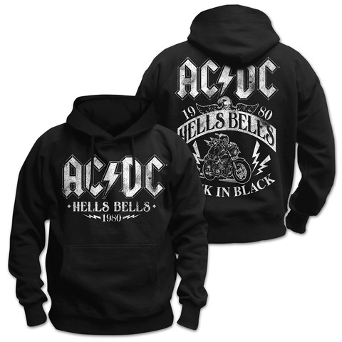 Hells Bells 1980 by AC/DC - Hood sweater - shop now at uDiscover store