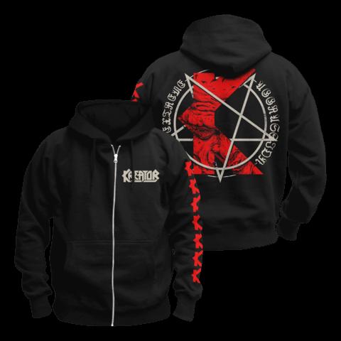 K-Line Pentagram by Kreator - Hooded jacket - shop now at uDiscover store