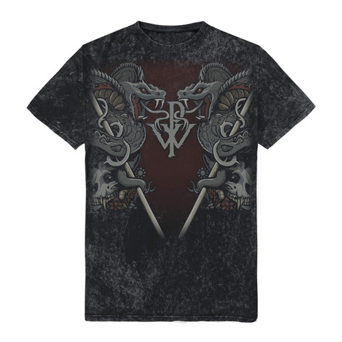 Cobra Allover by Powerwolf - t-shirt - shop now at uDiscover store