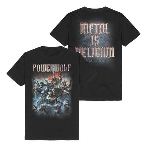 Best Of The Blessed Art by Powerwolf - t-shirt - shop now at uDiscover store