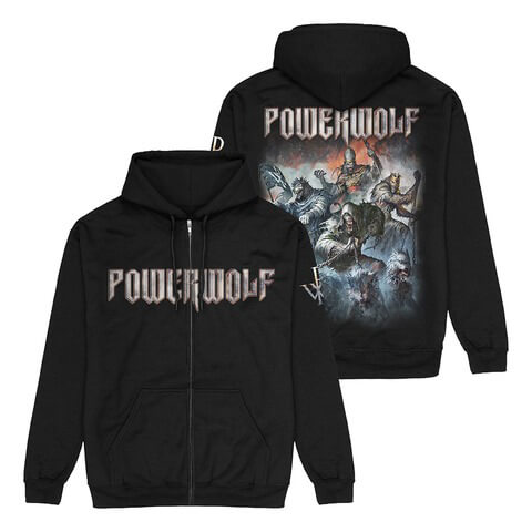 Best Of The Blessed Art by Powerwolf - Hooded jacket - shop now at uDiscover store