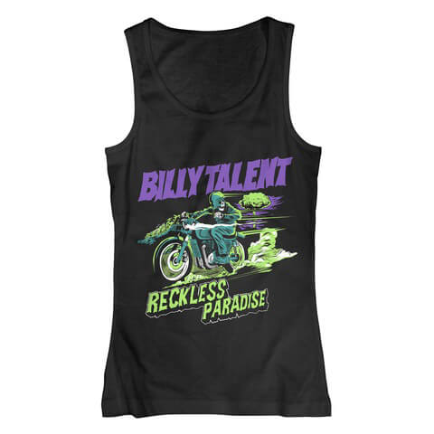 Reckless Paradise by Billy Talent - Tank Top - shop now at uDiscover store