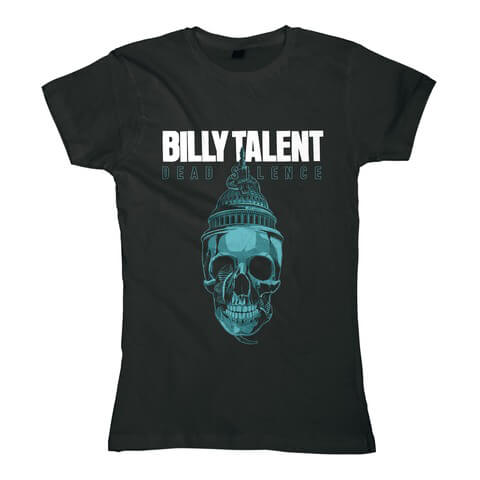Skull by Billy Talent - Girlie Shirt - shop now at uDiscover store