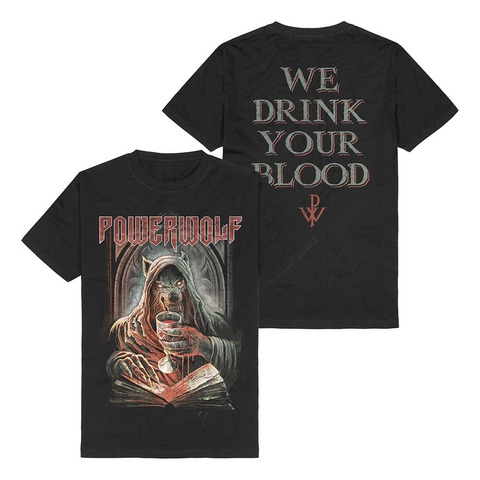 Your Blood by Powerwolf - t-shirt - shop now at uDiscover store