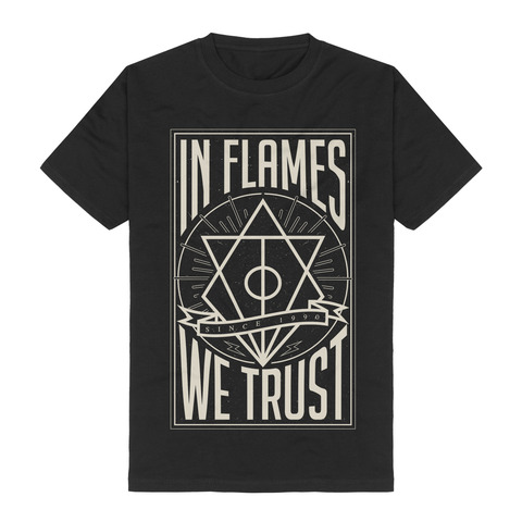 In Flames We Trust by In Flames - t-shirt - shop now at uDiscover store
