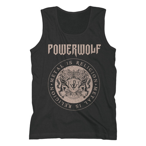 Crest Circle by Powerwolf - Men's Tank Top - shop now at uDiscover store