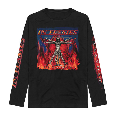 Vitruvian Man - Clayman Album Art by In Flames - Longsleeve - shop now at uDiscover store