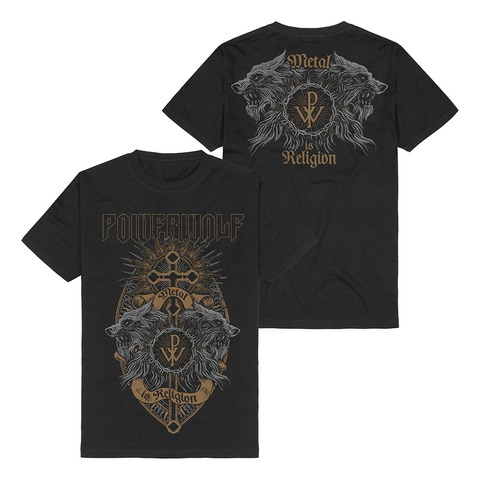 Crest Wolves by Powerwolf - t-shirt - shop now at uDiscover store