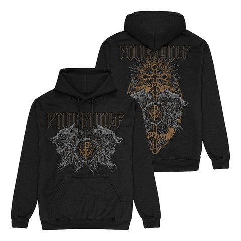 Crest Wolves by Powerwolf - Hood sweater - shop now at uDiscover store