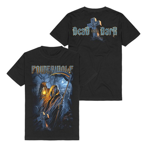Dead Until Dark by Powerwolf - t-shirt - shop now at uDiscover store