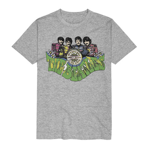 Sgt Peppers Fat Type by The Beatles - t-shirt - shop now at uDiscover store