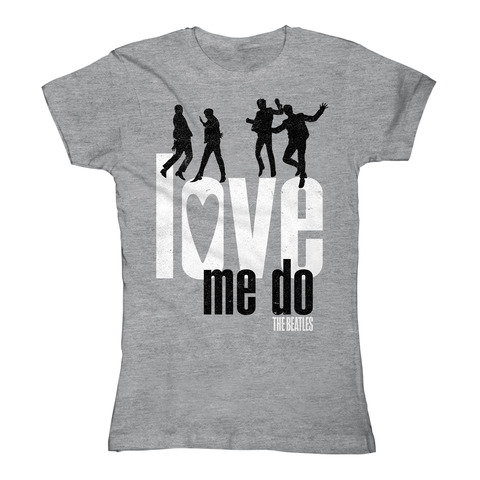 Love Me Do by The Beatles - Girlie Shirt - shop now at uDiscover store