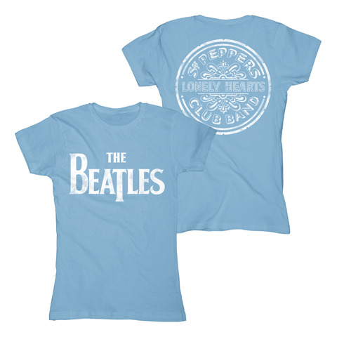 Sgt Peppers Distressed by The Beatles - Girlie Shirt - shop now at uDiscover store
