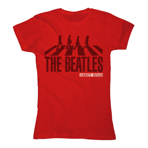 Abbey Road Silhouette by The Beatles - Girlie Shirt - shop now at uDiscover store