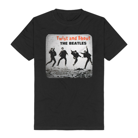Twist And Shout by The Beatles - t-shirt - shop now at uDiscover store