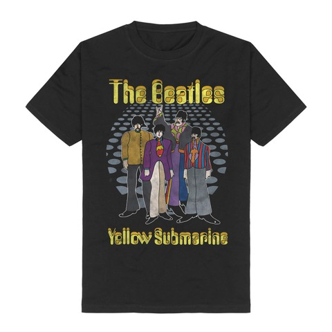 Yellow Submarine Groovy Dots by The Beatles - t-shirt - shop now at uDiscover store