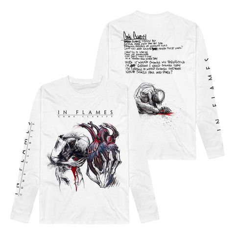 Come Clarity Lyrics by In Flames - Long Sleeve - shop now at uDiscover store