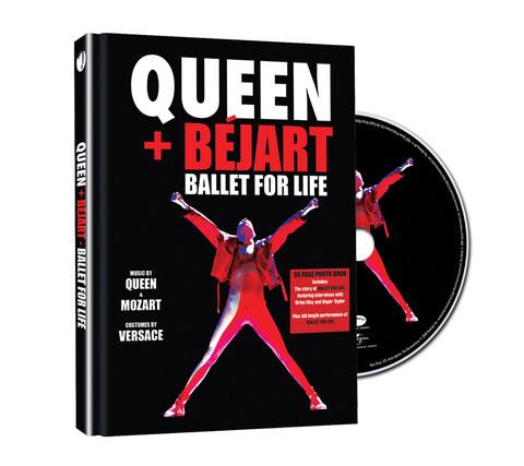 √Ballet For Life (Ltd. Deluxe Edition DVD) von Queen + Bejart - DVD jetzt im uDiscover Shop