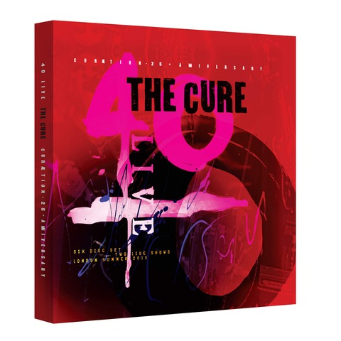 √40 Live: Cureation-25 + Anniversary (Ltd. Deluxe Box 2DVD + 4CD) von The Cure - Box set jetzt im uDiscover Shop