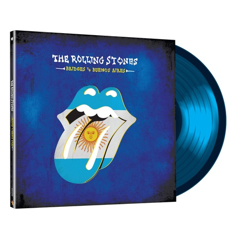 √Bridges To Buenos Aires (3LP Ltd. Edition Translucent Blue) von The Rolling Stones - LP jetzt im uDiscover Shop
