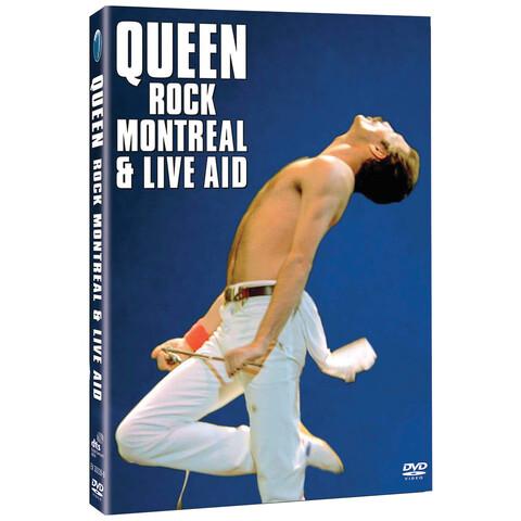 √Rock Montreal & Live Aid (2DVD) von Queen - DVD jetzt im uDiscover Shop