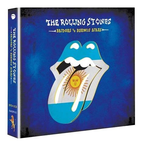 √Bridges To Buenos Aires (DVD+2CD) von The Rolling Stones - DVD + 2CD jetzt im uDiscover Shop