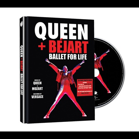√Ballet For Life (Ltd. Deluxe Edition BluRay) von Queen + Bejart - BluRay jetzt im uDiscover Shop