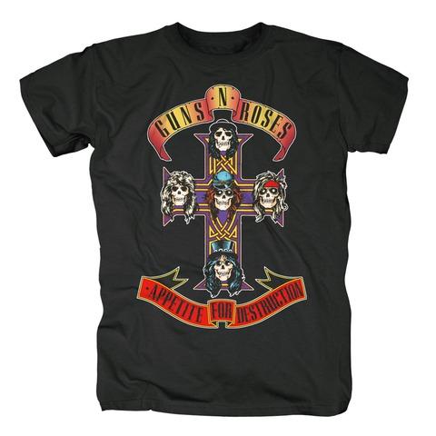 Appetite Album Cover von Guns N' Roses - T-Shirt jetzt im uDiscover Shop