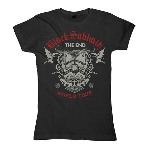 The End Scripture by Black Sabbath - Girlie Shirt - shop now at uDiscover store